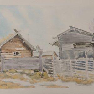 Vid Ancarcronas gård i Tällberg