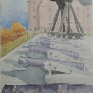 Kanonerna vid Gunillaklockan